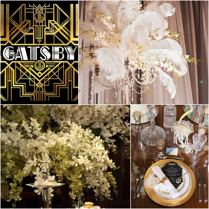 The Great Gatsby – Wedding Decor Theme
