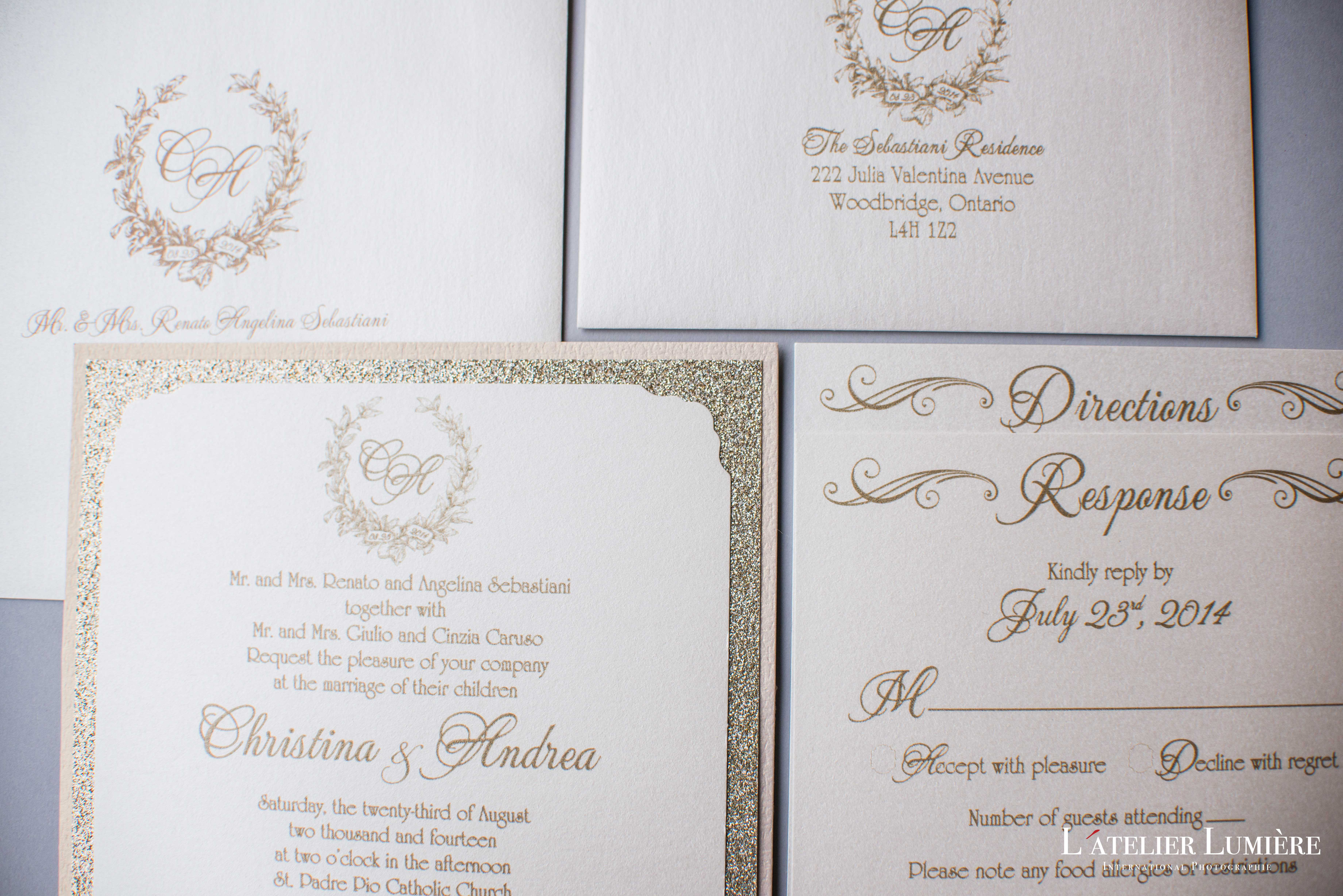 How to Address Wedding Invitations | GPS Decors